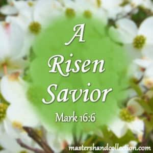 A Risen Savior Mark 16:6