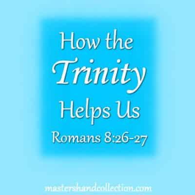How the Trinity Helps Us Romans 8:26-27