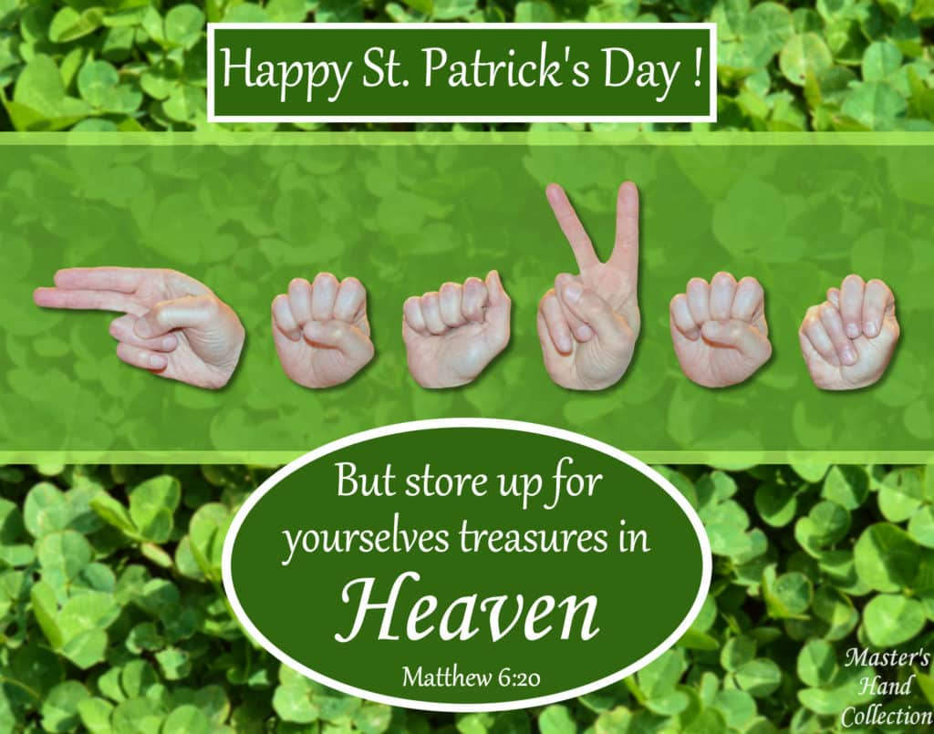 artwork titled Heaven St. Patrick's Day by Master's Hand Collection
