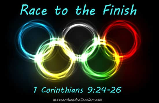 Race to the Finish 1 Corinthians 9:24-26