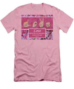 Love One Another T-shirt by Master's Hand Collection