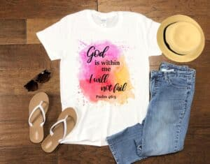 God is Within Me T-shirt