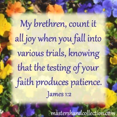 Count It All Joy James 1:2 Free Printable Bible Verse Art