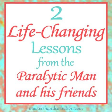 In Matthew Jesus heals the paralytic man. Here are 2 life-changing lessons from this often overlooked Bible story.