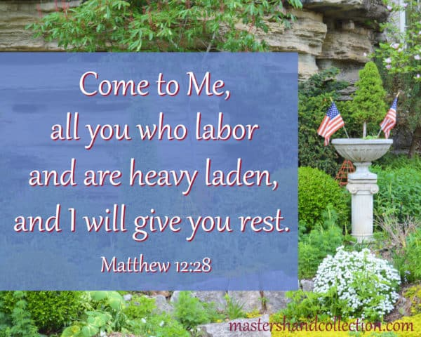 Bible verses for Labor Day Matthew 12:28