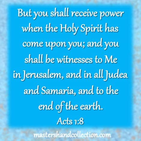 Bible verse about the Holy Spirit