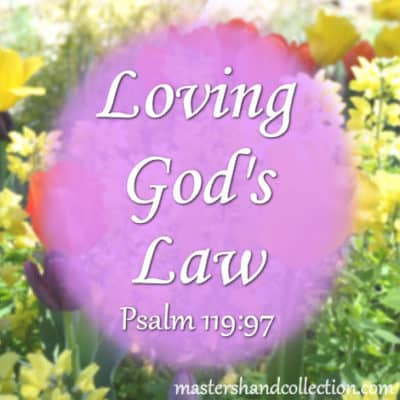 Loving God's Law Psalm 119:97