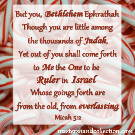 Images for Christmas Bible verses, Christmas Scripture, Micah 5:2