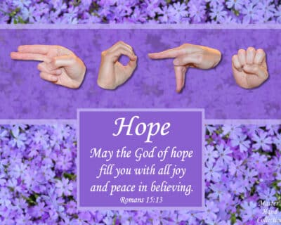 artwork titled God of Hope by Master's Hand Collection