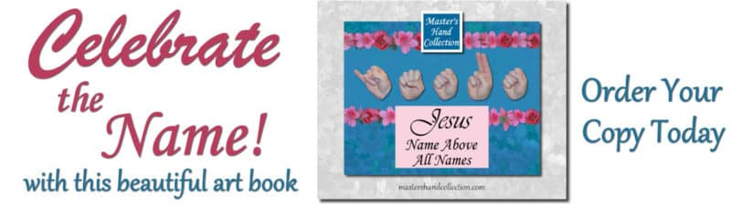 art book Jesus Name Above All Names by Master's Hand Collection