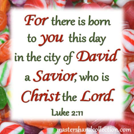 Image for Christmas Bible Verse, Christmas Scripture, Luke 2:11