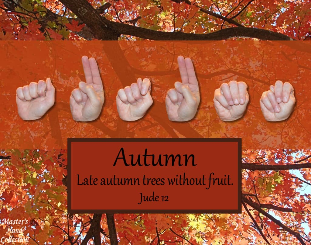 artwork titled Autumn by Master's Hand Collection