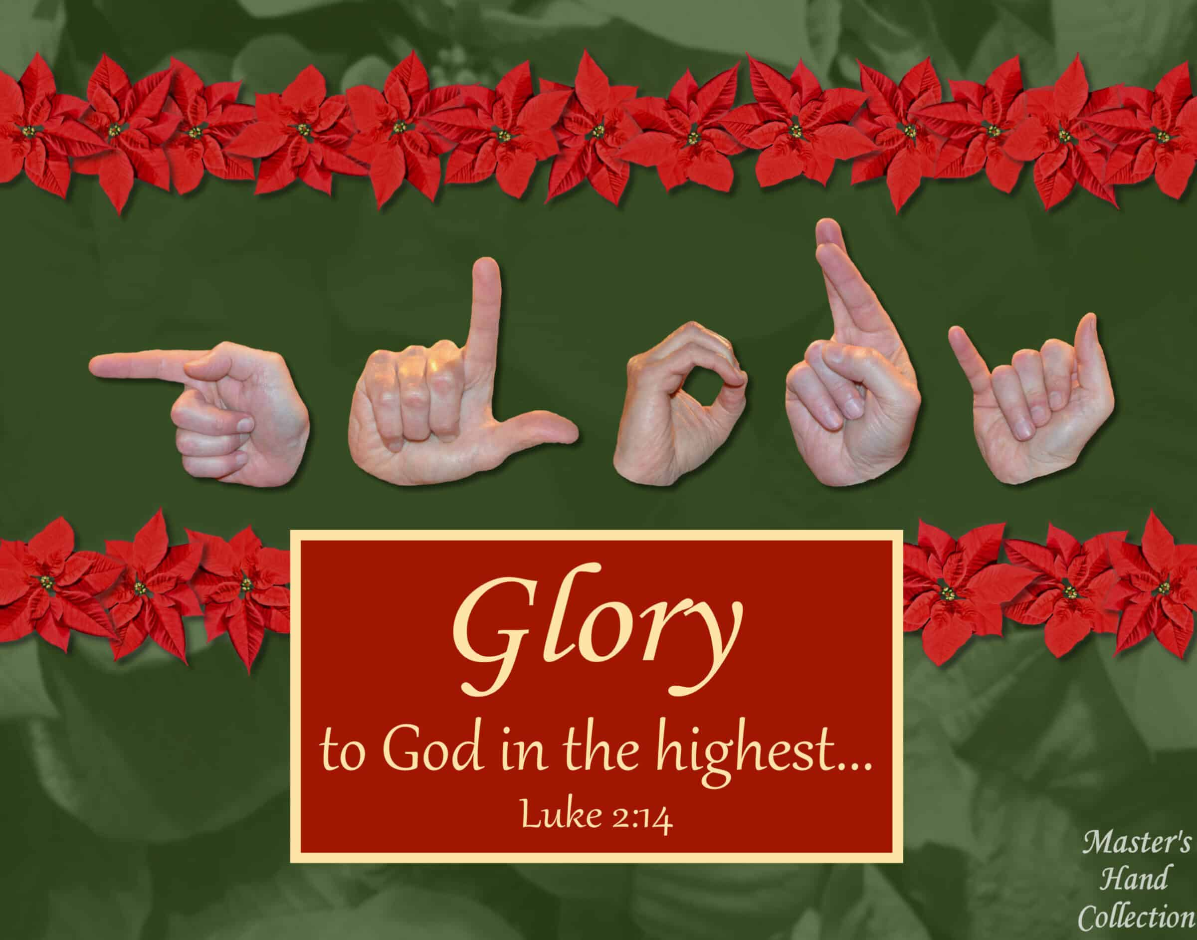 artwork titled Glory To God by Master's Hand Collection