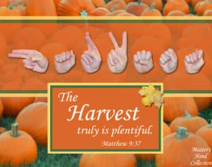 Christian Art titled Harvest by Master's Hand Collection