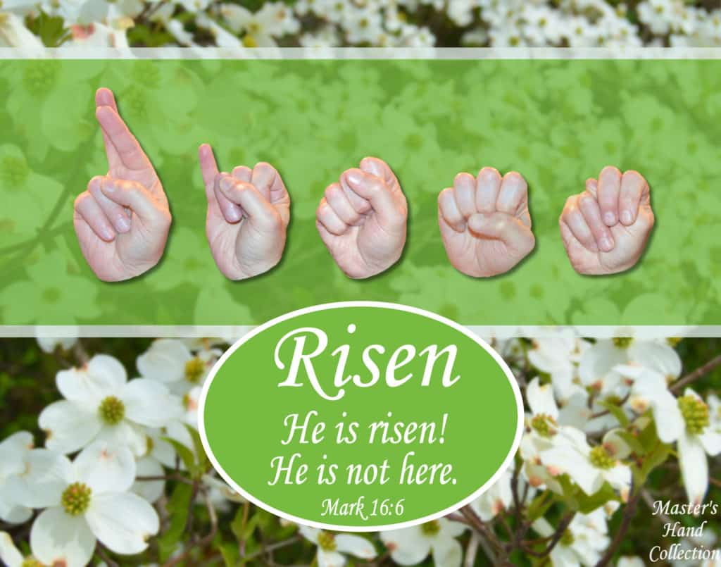 artwork titled He is Risen! by Master's Hand Collection
