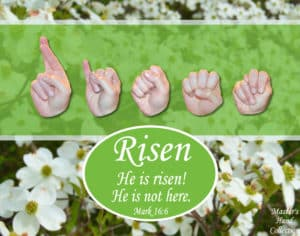 artwork titled He is Risen by Master's Hand Collection