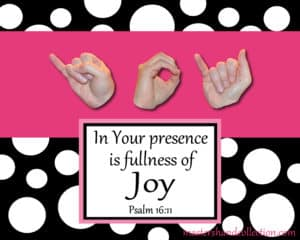 Joy Black and White Bible Verse Art