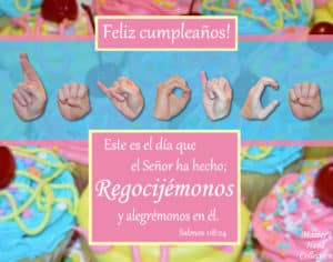 artwork titled Rejoice and Be Glad (Birthday) Spanish by Master's Hand Collection