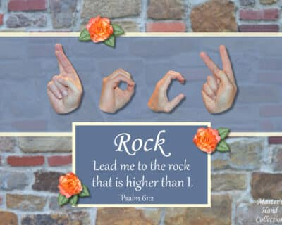 Rock That is Higher Printable Card