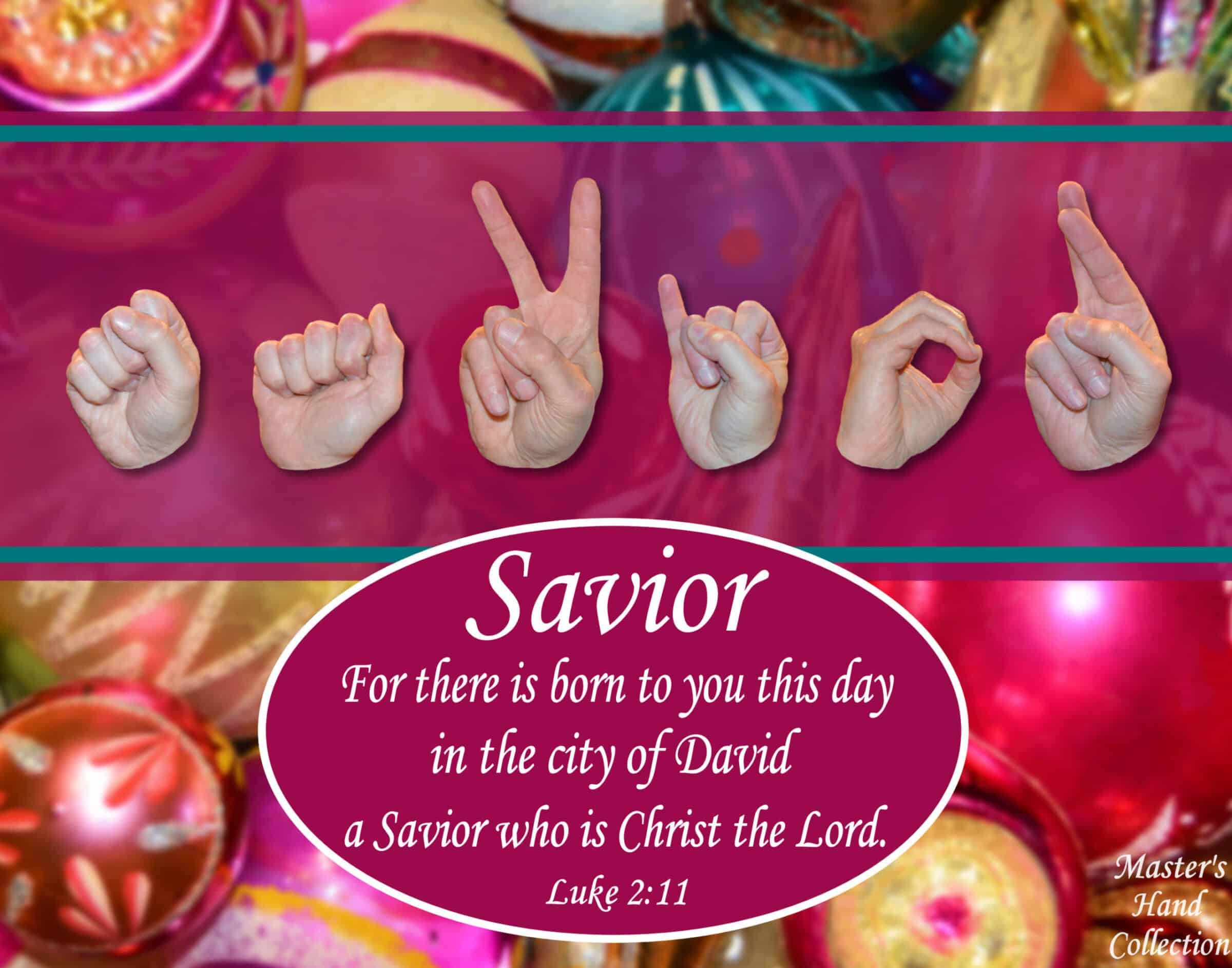 artwork titled Savior by Master's Hand Collection