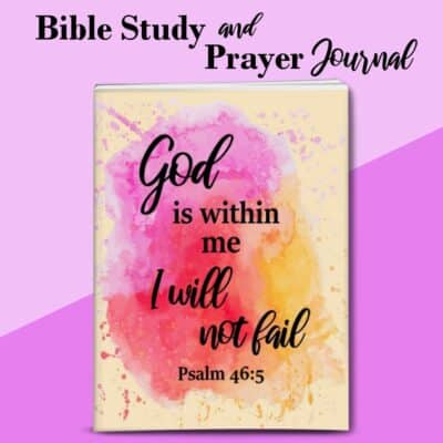 God Is With Me Bible Study and Prayer Journal