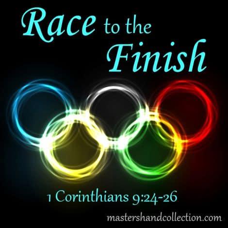 Race to the Finish 1 Corinthians 9:24-26