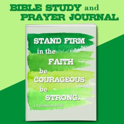 Stand Firm Bible Study and Prayer Journal