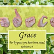 By Grace art print by Master's Hand Collection