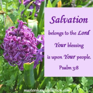 Salvation belongs to the Lord Psalm 3:8