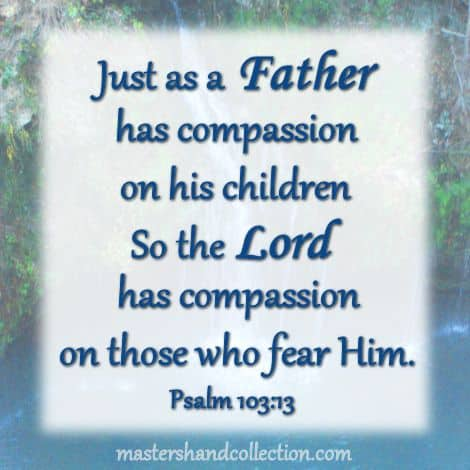 Bible verse for Father's Day