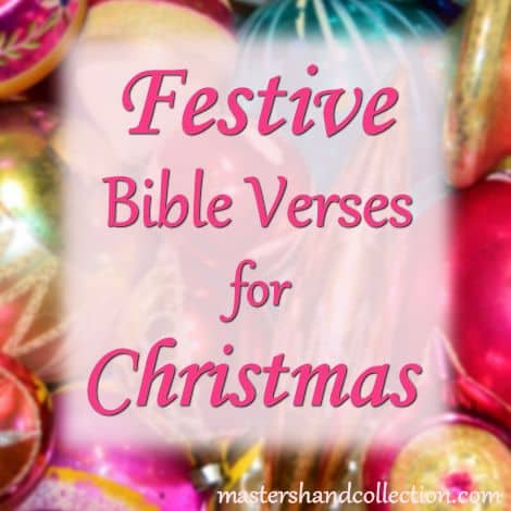 Festive Bible Verses for Christmas