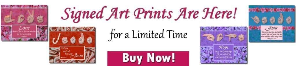 Signed Art Prints by Master's Hand Collection