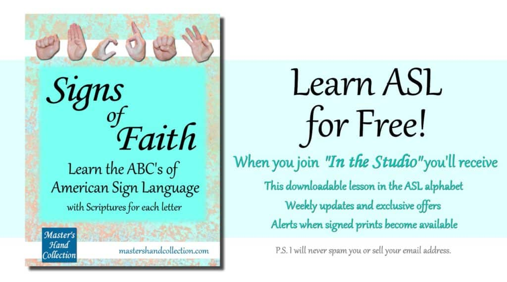 Signs of Faith by Master's Hand Collection