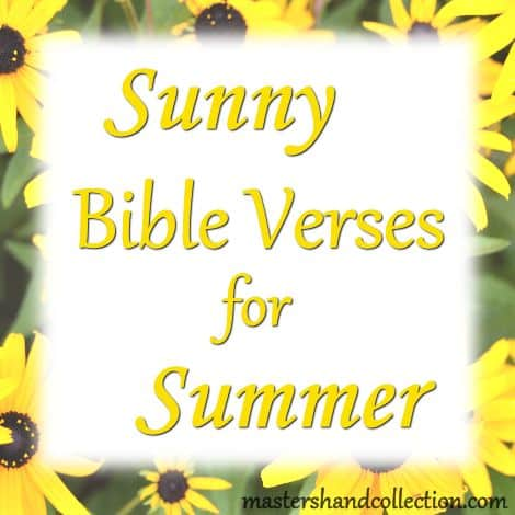 Sunny Bible Verses for Summer