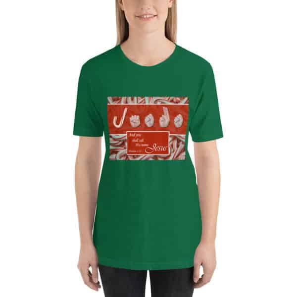 Call His Name Jesus T-shirt