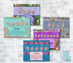 Names of Jesus Collection Printable Art