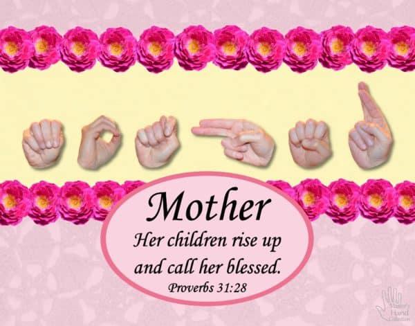 Mother's Day Printable Art Print