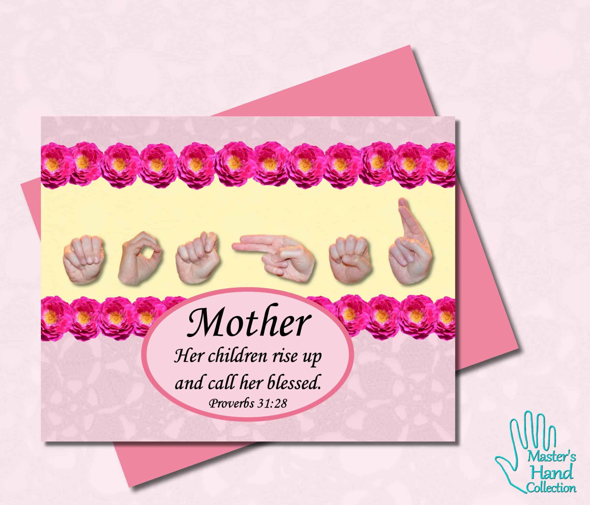 Call Her Blessed Mother's Day Card