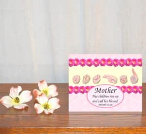 "Printable Mother's Day Card ""Call Her Blessed"""