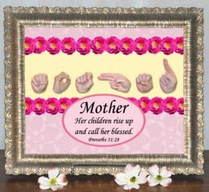 "Mother's Day Printable Art ""Call Her Blessed"""