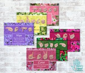 Love One Another Collection Printable Art (Set of 6)