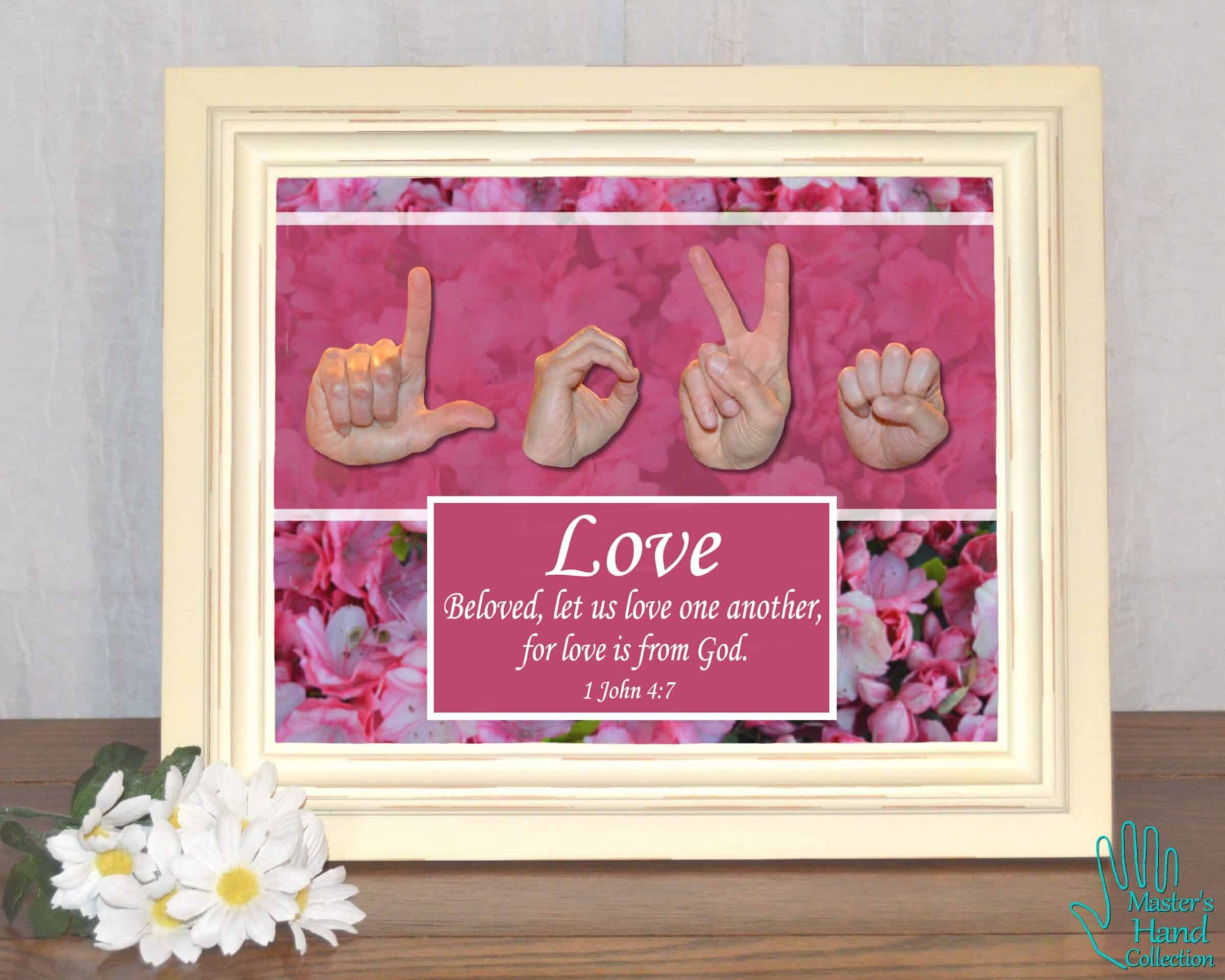 Love One Another Printable Art