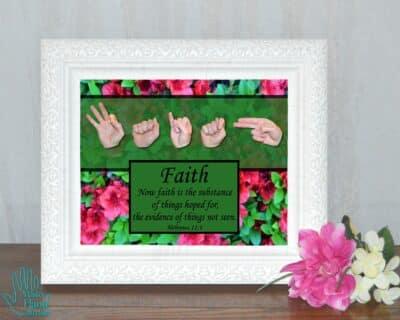 Now Faith Printable Art
