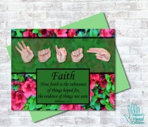 Now Faith Printable Card