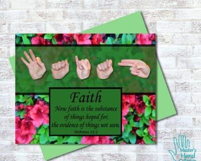 Now Faith Printable Card