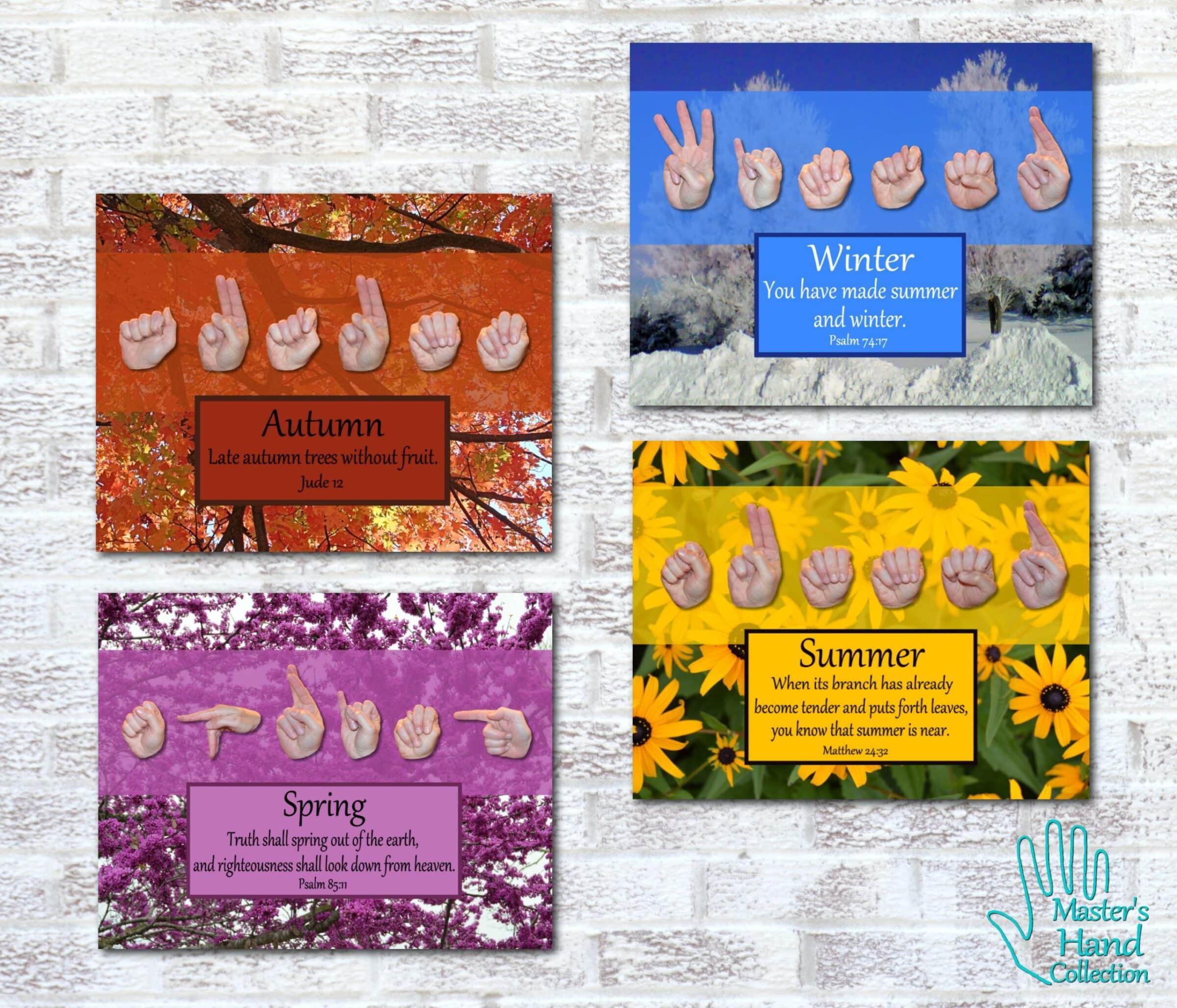 Seasons Collection Printable Art