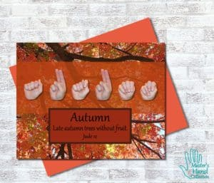 Autumn Printable Card