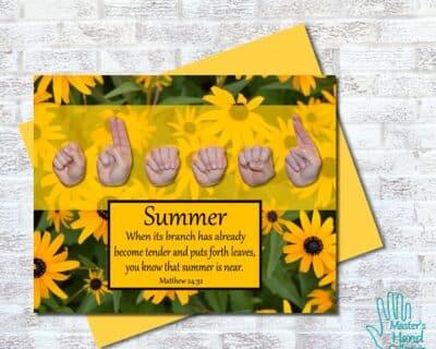 Summer Printable Card