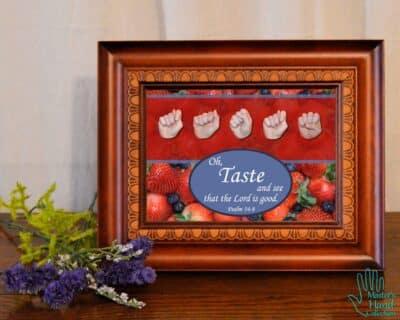 Taste and See Printable Art