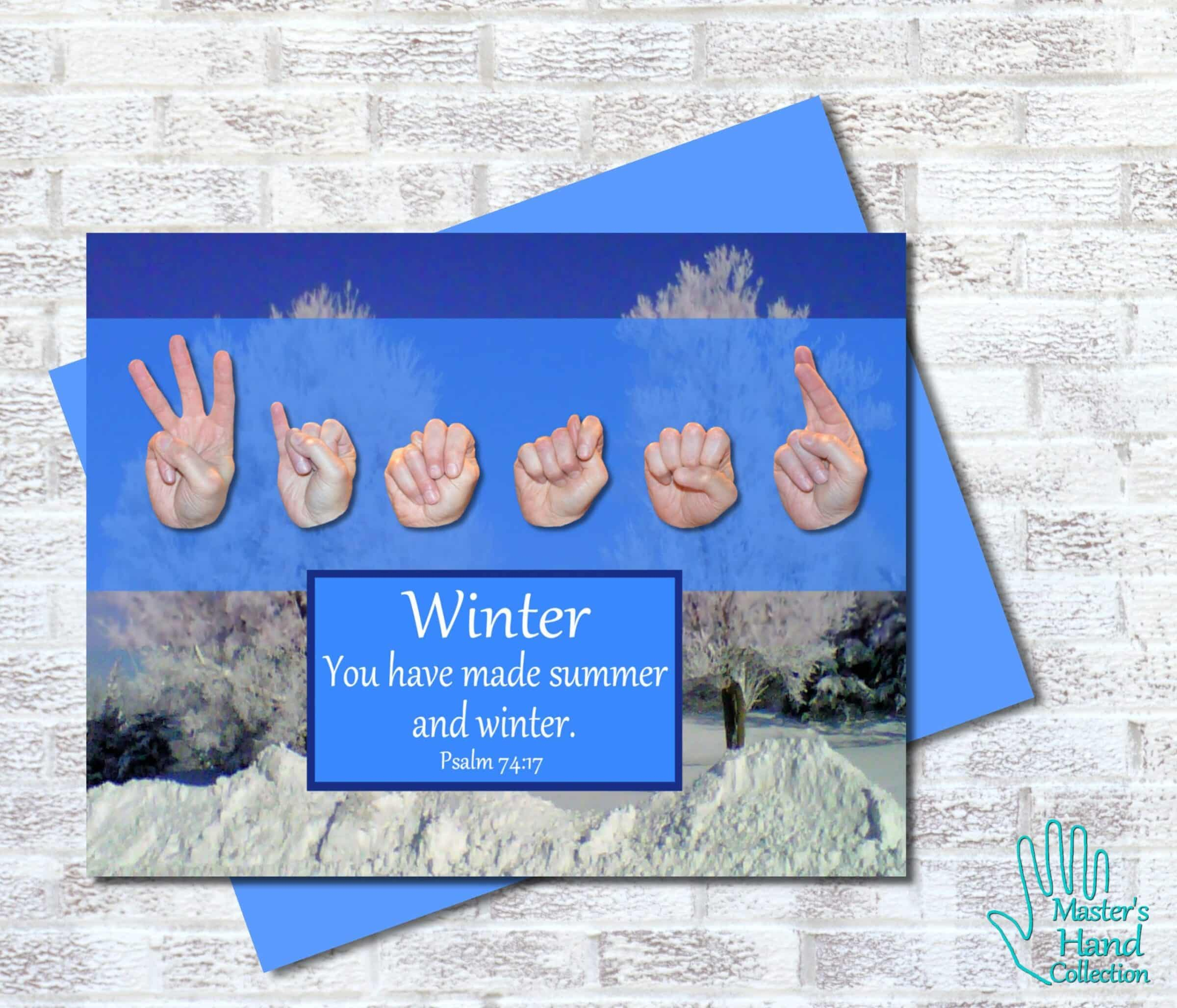 Winter Printable Card